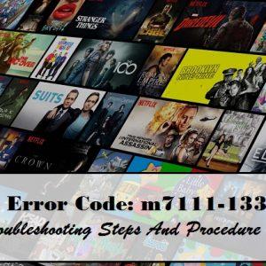 Error code M7121-1331-P7