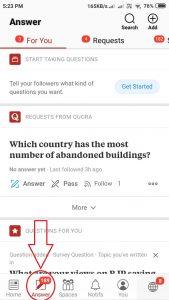 Save Draft in Quora