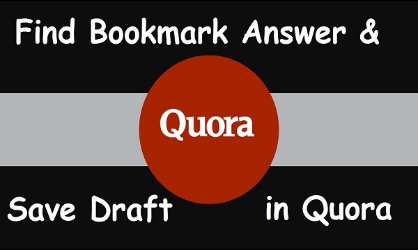 bookmarks answers in Quora?