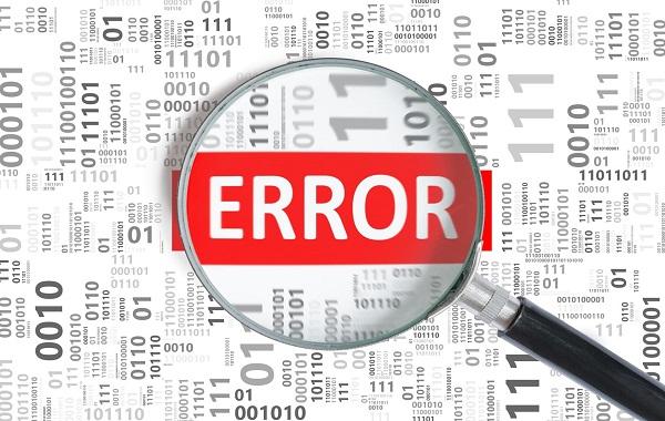 solved DF 9C'H, Default Error