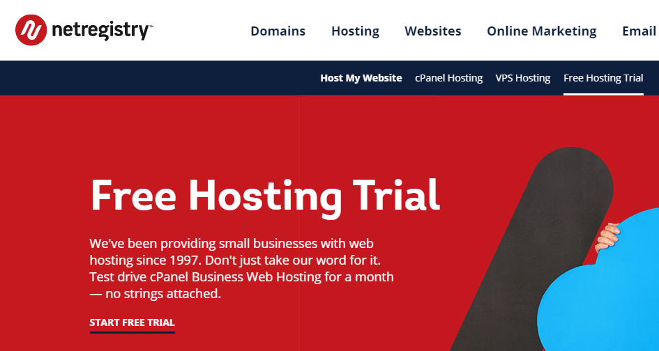 web hosting free trial 2020