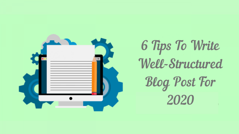 Write Well Structures Blog Post