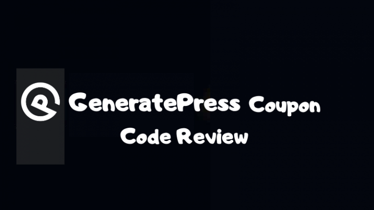 Generatepress pro discount code
