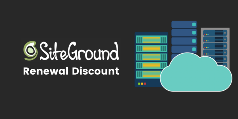 Siteground renewal discount coupon