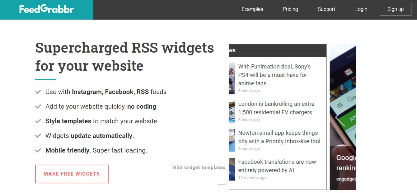 Geneatepress example sites
