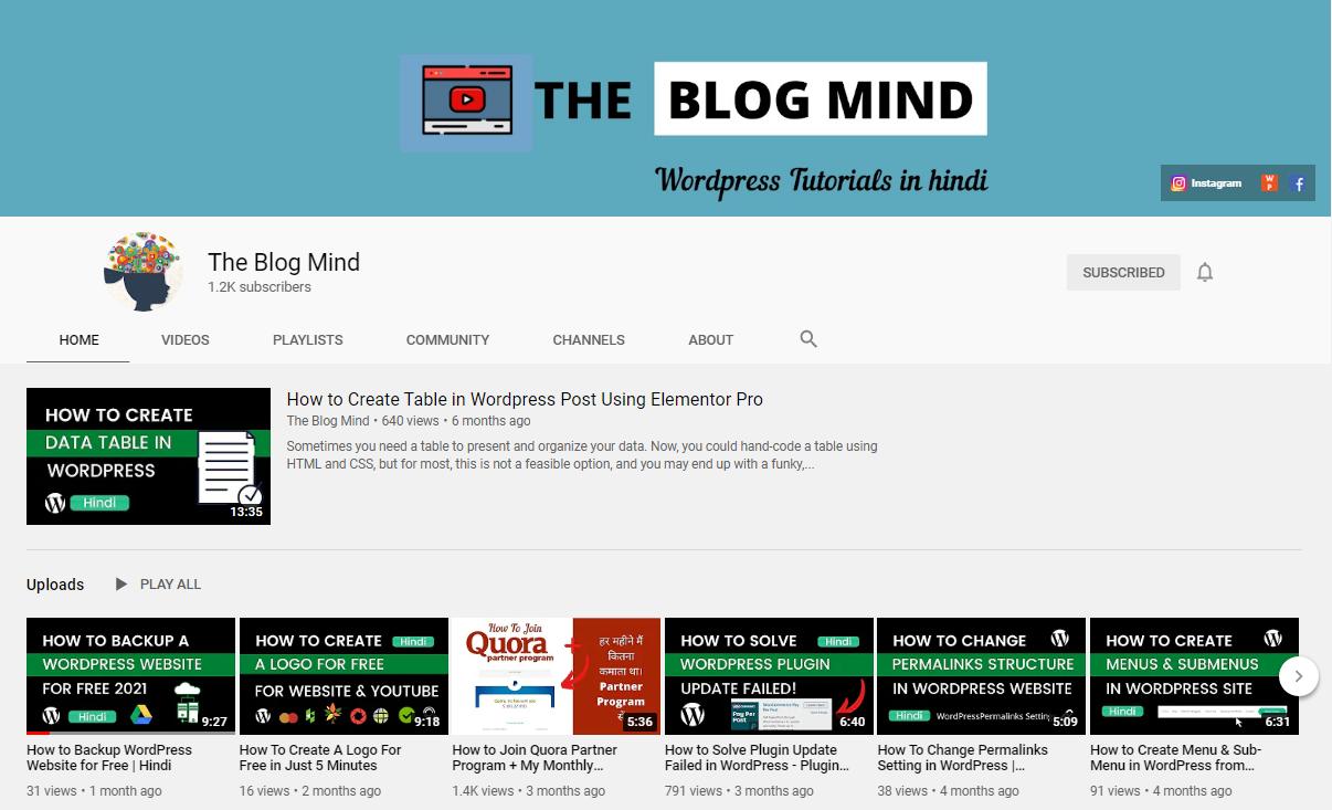 The blog mind