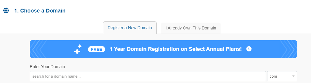 hostgator free domain